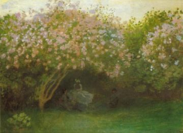 Monet, Lilacs, Grey Weather